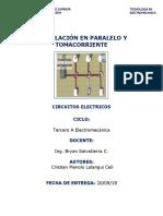 SEGUNDO INFORME DE INSTALACIONES ELECTRICAS