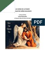 HorasdeLaPasion-LuisaPiccarreta