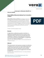 Base Nacional Comum para a Educação Infantil um tema em debate.pdf