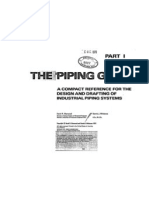 Piping Guide Recommended
