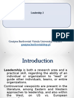 leadership - lecture -2.ppt