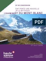Projet de rénovation du Tramway du Mont-Blanc