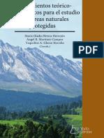 Acercamiento teórico - metodológicos para el estudio de áreas naturales protegidas.