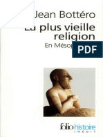La Plus Vieille Religion. en Mesopotamie - Jean Bottero