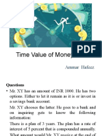 P2 Questions on Time Value of Money