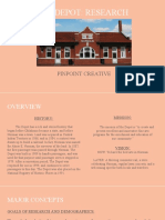 the depot final presentation