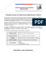 PNFA Diptico