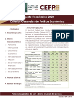Resumen CGPE 2020