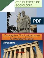 1. Corrientes Clasicas de la Sociologia-Socrates, Platon, Aristoteles (1)