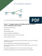 Packet Tracer 6.1 tutorial - IP telephony basic configuration