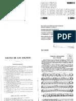 Vol. 1A - Solfeo de los Solfeos E. Lemoine y G. Carulli