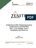 Zenith Sensor Manual