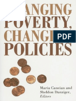 Changing Poverty, Changing Policies, Maria Cancian&Sheldon Danziger, 2009