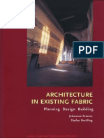 Architecture in Existing Fabric, Planning, Design, Building By Johannes Cramer and Stefan Breitling.pdf