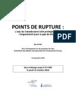 Points de Rupture Fr 14oct