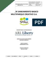 PLAN DE SANEAMIENTO BASICO MULTIPARQUE