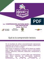 25INS COMPRENSION LECTORA PNLE