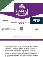 29INS TALLER DE PRODUCCION TEXTUAL