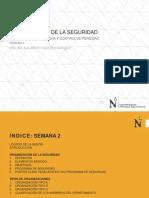 CLASE 2 ORGANIZACION DE LA SEGURIDAD