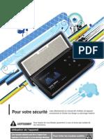 le manuel de Samsung K5 lecteur mp3!