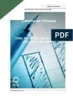 Caderno de Fórmulas Cdbs Dis Dpge Lam Lc Lf Lfs Lfsc Lfsn Ieci Rdb