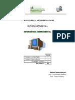 Material Informática instrumental