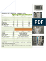 2017--working -25C-outlet 55C--EVI heat pump tech data