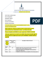 Jonathan Hudson SPRING 2020 Intership 120 Hours Verification
