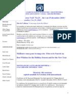 ACNUExpress Vol.5 No.23 - 1 au 15 décembre 2010