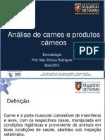 Análise de Carnes e Produtos Cárneos - Aula 10.pdf