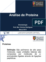 Análise de Proteína - Aula 5