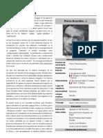 Pierre BOurdieu, bio