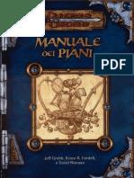 [D&D 3.0 ITA] Supplemento - Manuale Dei Piani