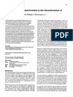 Application of mass spectrometry to the characterization of polymers.pdf