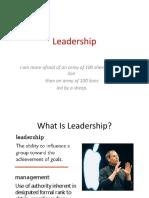 7 Leadership OB