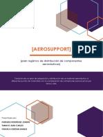 plan logístico de distribución de componentes aeronáuticos