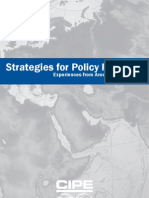 Policy Reform Strategy