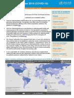 WHO COVID-19 report - April 17, 2020