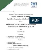 AMELIORATION DE LA PRODUCTION  - systeme pneumatique
