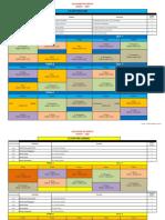 Horários 3º - 2020 Regular Pós-Laboral