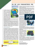 optimizacion de los parametros de pid