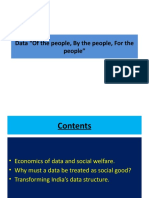 DATA FOR THE PEOPLE BY THE PEOPLE OF THE PEOPLE_
