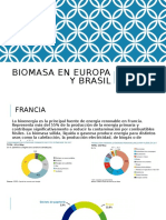 BIOMASA EN ITALIA, ESPAÑA, FRANCIA Y BRASIL