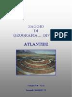 4232 - Saggio Di Geografia Divina Vol IV b - Atlantide