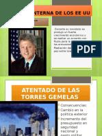 POLITICA INTERNA DE LOS EE UU