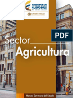 SECTOR AGROPECUARIO, PESQUERO Y DESARROLLO RURAL