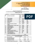 model de NOTA DE FUNDAMENTARE CU CHELTUIELILE PE LINIE DE SECURITATE SI SANATATE IN MUNCA
