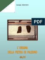 4411 - L'Enigma Della Pietra Di Palermo
