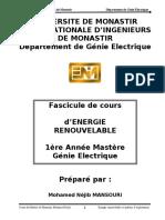 Les Energies Renouvelables VF