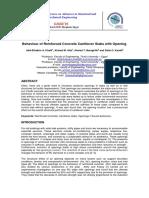 BehaviourofReinforcedConcreteCantileverSlabswithOpening